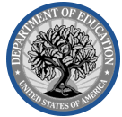 Logo of the Deparement of Education