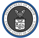 Logo of the Deparement of Labor